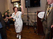 03/11/2016 Repro fee: Rita Gilligan's book The Rock 'n' Roll Waitress from The Hard Rock Cafe My Life in Hotel Meyrick, Galway was launched my Cllr. Noel Larkin Mayor of Galway.  Photo :Andrew Downes, XPOSURE