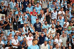 August 1, 2018 - MalmÃÂ, Sverige - 180801 Fans of Malmö FF during the UEFA Champions League qualifying match between Malmö FF and Cluj on August 1, 2018 in Malmö..Photo: Ludvig Thunman / BILDBYRÃ…N / kod LT / 35511 (Credit Image: © Ludvig Thunman/Bildbyran via ZUMA Press)