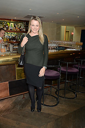 Chef SOPHIE MICHELL at the 3rd birthday party for Spectator Life magazine hosted by Andrew Neil and Olivia Cole held at the Belgraves Hotel, 20 Chesham Place, London on 31st March 2015.