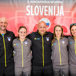 20170411: SLO, Tennis - Press conference of Team Slovenia for FED Cup in Lithuania
