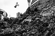 Leandro Moreira during BMX Dirt Finals at the 2018 X Games Sydney in Sydney, Australia. ©Brett Wilhelm/ESPN