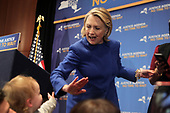 New York Governor Andrew Cuomo & Former Secretary of State Hillary Clinton Rally for Justice Agenda