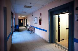 Gagliano del Capo, 18 ottobre 2012..Ospedale Daniele Romasi situato in Via San Vincenzo a Gagliano del Capo in provincia di Lecce ed è Presidio della ASL di Lecce. .