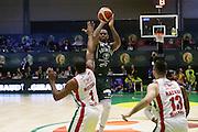 M'Baye Amath<br /> EA7 Emporio Armani Milano - Cantine Due Palme Brindisi<br /> Poste Mobile Final Eight F8 2017 <br /> Lega Basket 2016/2017<br /> Rimini, 16/02/2017<br /> Foto Ciamillo-Castoria / M. Brondi