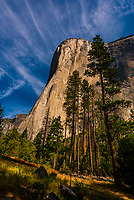 El Capitan, Yosemite Valley, Yosemite National Park, California USA.
