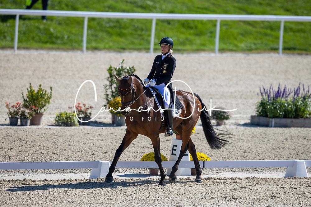 Klimke Ingrid, GER, SAP Hale Bob OLD<br /> FEI EventingEuropean Championship <br /> Avenches 2021<br /> © Hippo Foto - Dirk Caremans<br />  24/09/2021