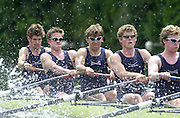 Henley on Thames, United kingdom,   Heat of the Ladies Challenge Cup<br /> Oxford University and ISIS Boat Club. 05.07.2002 Sat. Annual 2002 Henley Royal Regatta, Henley Reach, River Thames, England, [Mandatory Credit: Peter Spurrier/Intersport Images]   No. 3 Gerritjan EGGENKAMP. 20020703 Henley Royal Regatta, Henley, Great Britain