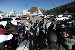 South Africa - Cape Town - 30 June 2020 -Western Cape SAHRC commissionerChrisNissen, visited the community of Hangberg to mediate the way forward on the housing issues between residents and the city officals. Photographer: Armand Hough/African News Agency(ANA)
