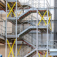 12/05/21 Peterborough - New E Comm facility Peterborough with Mezzanine floor and stairways by MiTek