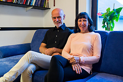 Andrej and Marija Stremfelj, first married couple on Mount Everest, on October 5, 2020 in Kranj, Kranj, Slovenia. Photo by Ziga Zupan / Sportida
