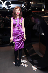 SOPHIE ELLIS-BEXTOR at a party hosted by InStyle to celebrate the iconic glamour of Dolce & Gabbana held at D&G, 6 Old Bond Street, London on 3rd November 2010.