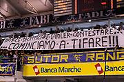 DESCRIZIONE : Ancona Lega A 2011-12 Fabi Shoes Montegranaro Angelico Biella<br /> GIOCATORE : tifosi<br /> CATEGORIA : tifosi curva<br /> SQUADRA : Fabi Shoes Montegranaro<br /> EVENTO : Campionato Lega A 2011-2012<br /> GARA : Fabi Shoes Montegranaro Angelico Biella<br /> DATA : 13/11/2011<br /> SPORT : Pallacanestro<br /> AUTORE : Agenzia Ciamillo-Castoria/C.De Massis<br /> Galleria : Lega Basket A 2011-2012<br /> Fotonotizia : Ancona Lega A 2011-12 Fabi Shoes Montegranaro Angelico Biella<br /> Predefinita :