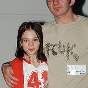 TMF awards 2004, Jeroen van Inkel en dochter Isabel