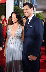 January 6, 2019 - Beverly Hills, California, United States of America - Gina Rodriguez attends the 76th Annual Golden Globe Awards at the Beverly Hilton in Beverly Hills, California on  Sunday, January 6, 2019. HFPA/POOL/PI (Credit Image: © Prensa Internacional via ZUMA Wire)