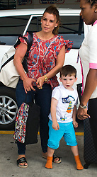 EXCLUSIVE: Coleen Rooney and family are spotted at Barbados' airport shortly after arriving on a flight from the Uk. 23 May 2017 Pictured: Coleen Rooney. Photo credit: Chris Brandis-Islandpaps.com/MEGA TheMegaAgency.com +1 888 505 6342