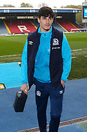 Blackburn Rovers midfielder John Buckley (21) arrives for  the EFL Sky Bet Championship match between Blackburn Rovers and Birmingham City at Ewood Park, Blackburn, England on 8 May 2021.