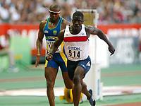 Athletics, 24. august 2003, VM Paris, World Championship in Athletics,  Dwain Chambers, GBR, 100 meter