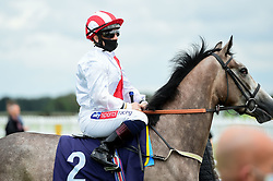 Infinite Beauty ridden by Hollie Doyle and trained by James Tate in the visitbath.co.uk Nursery Handicap - Mandatory by-line: Ryan Hiscott/JMP - 24/08/20 - HORSE RACING - Bath Racecourse - Bath, England - Bath Races
