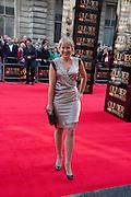 NIKKI CHAPMAN, Olivier Awards 2012, Royal Opera House, Covent Garde. London.  15 April 2012.