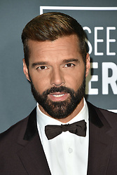 Ricky Martin attends the 24th annual Critics' Choice Awards at Barker Hangar on January 13, 2019 in Santa Monica, CA, USA. Photo by Lionel Hahn/ABACAPRESS.COM