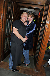 SIMON RUSSELL BEALE and SAMANTHA BOND at One Night Only at The Ivy held at The Ivy, 1-5 West Street, London on 2nd December 2012.