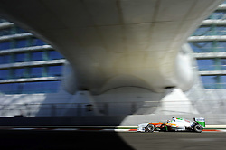 11.11.2011, Yas-Marina-Circuit, Abu Dhabi, UAE, Grosser Preis von Abu Dhabi, im Bild Adrian Sutil (GER), Force India Formula One Team  // during the Formula One Championships 2011 Large price of Abu Dhabi held at the Yas-Marina-Circuit, 2011-11-11. EXPA Pictures © 2011, PhotoCredit: EXPA/ nph/ Dieter Mathis..***** ATTENTION - OUT OF GER, CRO *****