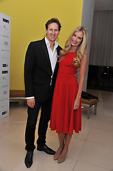 BRENDAN COLE and his wife ZOE at the pre party for the English National Ballet's Christmas performance of The Nutcracker held at the St.Martin's Lane Hotel, St.Martin's Lane, London on 14th December 2011.