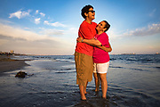 Patricia and her son, Alan, in Long Beach, CA.