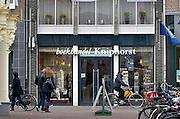 Nederland, Wageningen, 13-3-2013Het centrum van de stad met markt en winkelgebied. Zelfstandige boekhandel KniphorstHet stadje aan de rijn, nederrijn, heeft de universiteit,wur, en er is de capitulatie van de duitse troepen getekend in 1945.Foto: Flip Franssen/Hollandse Hoogte