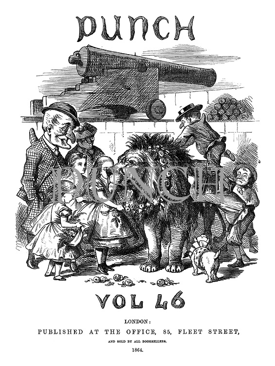 Punch volume 46 (January-June). Title page
