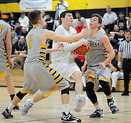 CB West at Archbishop Wood Basketball