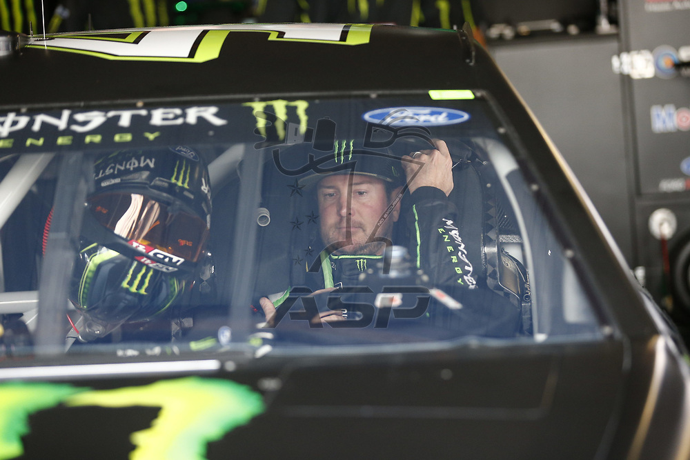 March 31, 2017 - Martinsville, Virginia , USA: The Monster Energy NASCAR Cup Series teams take to the track to practice for the STP 500 at Martinsville Speedway in Martinsville, Virginia .
