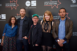 Left to right on the red carpet during the Edinburgh International Film Festival Premier of Daphne at Cineworld. Valentina Brazzinni, Tristan Goligher, Peter Mackie Burns, Emily Beecham, Nico Mensinga, Friday 23rd June 2017(c) Brian Anderson | Edinburgh Elite media