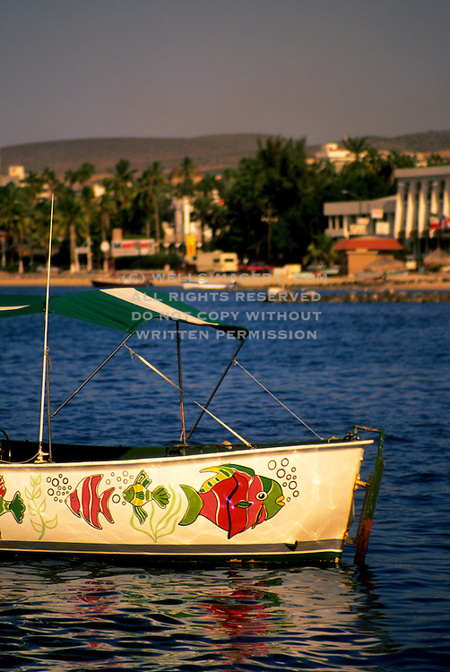 Image of La Paz from Plaza Coral Pier, Mexico, Baja California Sur, and Sea of Cortez by Andrea Wells