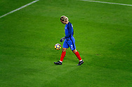 Antoine Griezmann (FRA) is going to the corner with the ball during the 2017 Friendly Game football match between France and Wales on November 10, 2017 at Stade de France in Saint-Denis, France - Photo Stephane Allaman / ProSportsImages / DPPI