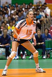 19-06-2000 JAP: OKT Volleybal 2000, Tokyo<br /> Nederland - Japan 1-3 / Ingrid Visser