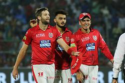 May 8, 2018 - Jaipur, Rajasthan, India - Kings XI Punjab team players celebrates during the IPL T20 match against Rajasthan Royals at Sawai Mansingh Stadium in Jaipur,Rajasthan,India on 8th May,2018.(Photo By Vishal Bhatnagar/NurPhoto) (Credit Image: © Vishal Bhatnagar/NurPhoto via ZUMA Press)