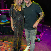NLD/Amsterdam/20190919 - Premiere Show Johnny de Mol, Johnny de Mol en partner Anouk