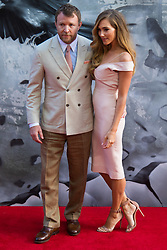 London, May 10th 2017. Jacqui Ainsley and Guy Ritchie attend the European premiere of King Arthur - Legend of the Sword at the Cineworld Empire in Leicester Square.