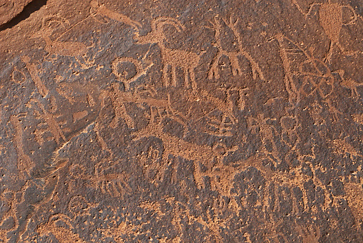 Sand island Petroglyphs, Bluff, Utah