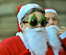 Charity Santa Dash | Glasgow | 10 December 2017