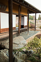 """Kairaku-en Garden, literrally  """"A park to be enjoyed together"""" is a Japanese garden located in Mito, Japan. Along with Kenroku-en and Koraku-en, Kairaku-en is considered one of the Three Great Gardens of Japan. Built in the year 1841 by lord Tokugawa Nariaki,  and though worth a visit throughout the year, the garden is at its most attractive during the plum blossom season, which takes place in early March. More than 3000 plum trees have been planted here. Besides the plum tree forest, Kairakuen also features a bamboo grove, cedar woods and the Kobuntei, a traditional Japanese style building - its name is derived from  the word plum."""
