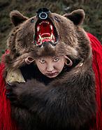 Comanesti Bear Dancing Festival, Bacau County, Romania