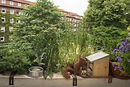 Balkon Eichhörnchen