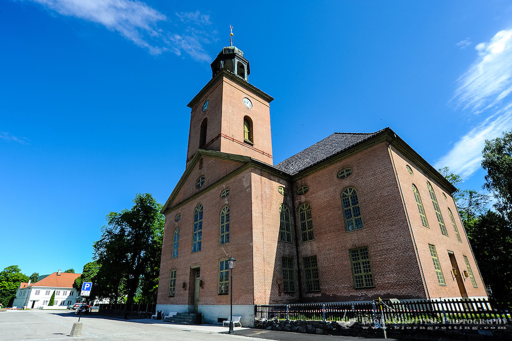 Norway, Kongsberg. Kongsberg Church remains one of the largest in Norway.
