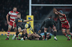 December 27, 2016 - London, England, United Kingdom - Harlequins Danny Care during Aviva Premiership Rugby match between Harlequins and Gloucester Rugby at The Twickenham Stadium, London on 27 Dec 2016  (Credit Image: © Kieran Galvin/NurPhoto via ZUMA Press)