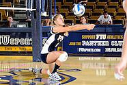 FIU Volleyball vs South Dakota State (Sept 13 2013)