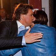 NLD/Den Bosch/20120920- Uitreiking Buma NL Awards 2012, Rene froger en zoon Danny Froger