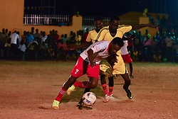 June 23, 2017 - Juba, Central Equatorial, South Sudan - As the Muslim holy month of Ramadan comes to an end, young men in the war-torn Africa nation of South Sudan compete in the finals of the so-called ''Ramadan League'' in the capital of Juba. The match is a momentary respite from the troubles the country is facing: civil war and a deepening humanitarian crisis that has left two-thirds of the nation on the brink of starvation, and hundreds of thousands fleeing into neighboring countries. (Credit Image: © Miguel Juarez Lugo via ZUMA Wire)