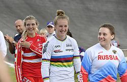 11-08-2018 BMX: EUROPEAN CHAMPIONSHIPS BMX CYCLING: GLASGOW<br /> Laura Smulders heeft haar succesjaar een vervolg gegeven bij het Europees kampioenchap BMX. Nadat ze in juni al de wereldtitel veroverde in Bakoe, was Laura ook in de Schotse stad de sterkste. De Deense Simone Christensen pakte het zilver, de Russin Jaroslava Bondarenko het brons.<br /> <br /> Foto: SCS/Soenar Chamid